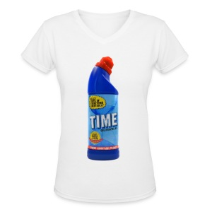 Time Bleach - Women's T-Shirt - Women's V-Neck T-Shirt