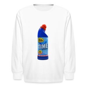 Time Bleach - Women's T-Shirt - Kids' Long Sleeve T-Shirt