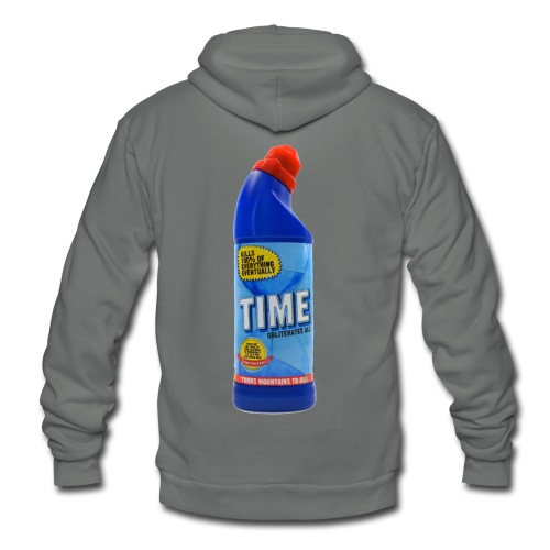 Time Bleach - Women's T-Shirt - Unisex Fleece Zip Hoodie