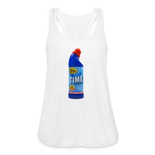 Time Bleach - Women's T-Shirt - Women's Flowy Tank Top by Bella