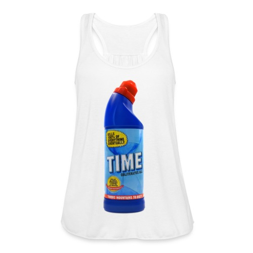 Time Bleach - Women's T-Shirt - Women's Flowy Tank Top by Bella