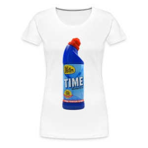 Time Bleach - Women's T-Shirt - Women's Premium T-Shirt
