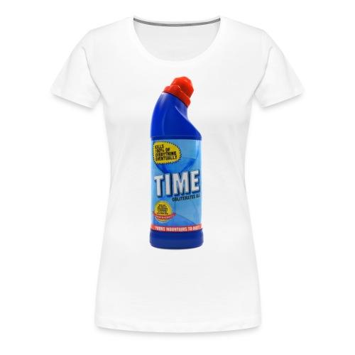 Time Bleach - Women's T-Shirt - Women's Premium T-Shirt