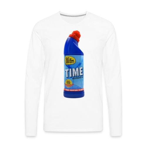 Time Bleach - Women's T-Shirt - Men's Premium Long Sleeve T-Shirt