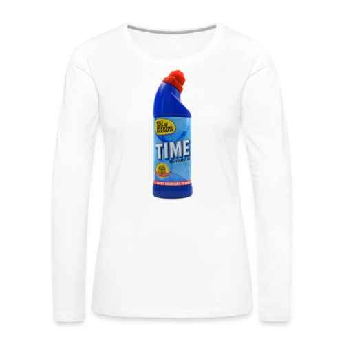 Time Bleach - Women's T-Shirt - Women's Premium Long Sleeve T-Shirt