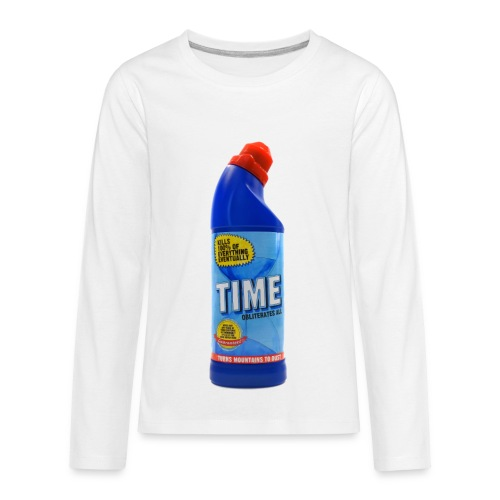 Time Bleach - Women's T-Shirt - Kids' Premium Long Sleeve T-Shirt