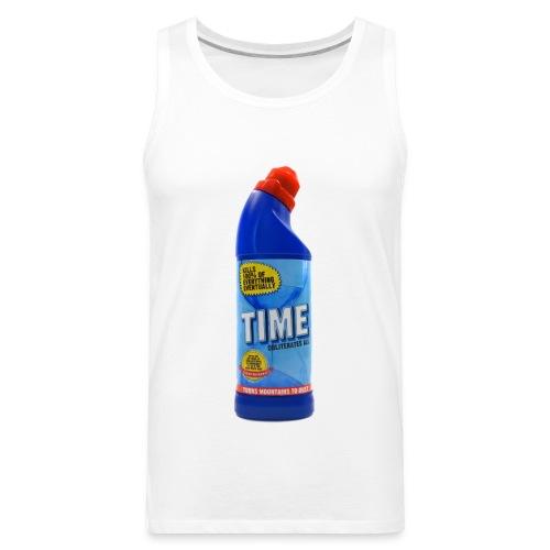 Time Bleach - Women's T-Shirt - Men's Premium Tank