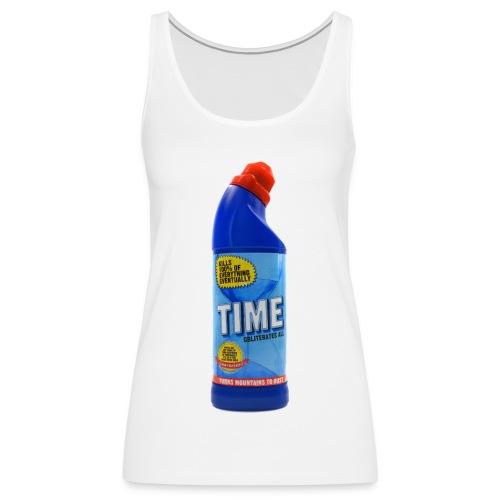 Time Bleach - Women's T-Shirt - Women's Premium Tank Top