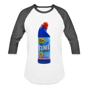 Time Bleach - Women's T-Shirt - Baseball T-Shirt