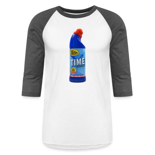 Time Bleach - Women's T-Shirt - Baseball T-Shirt