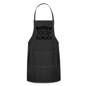 Happy 100th Day of School | Chalk - Adjustable Apron