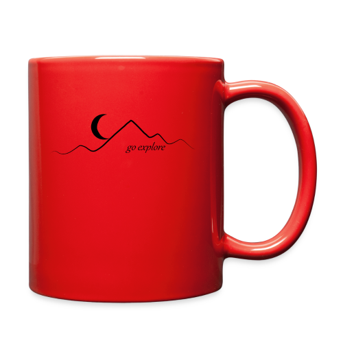 go explore (bandana) - Full Color Mug