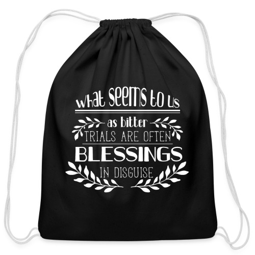 Blessings T-Shirt - Cotton Drawstring Bag
