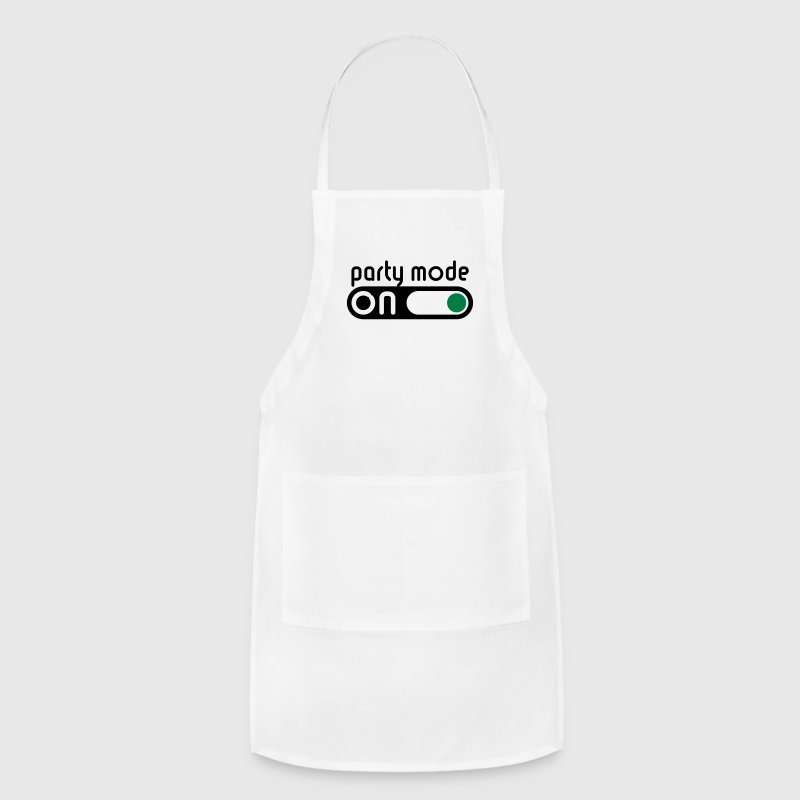 Party Mode On (Partying / Switch On) Aprons - Adjustable Apron