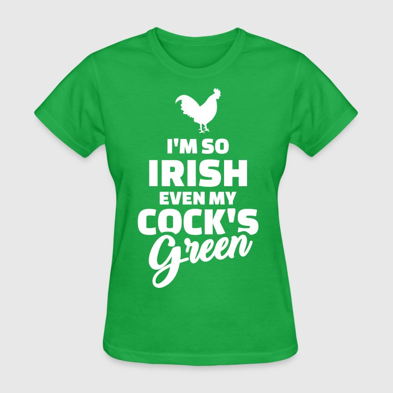 Irish cock T-Shirts - Women's T-Shirt