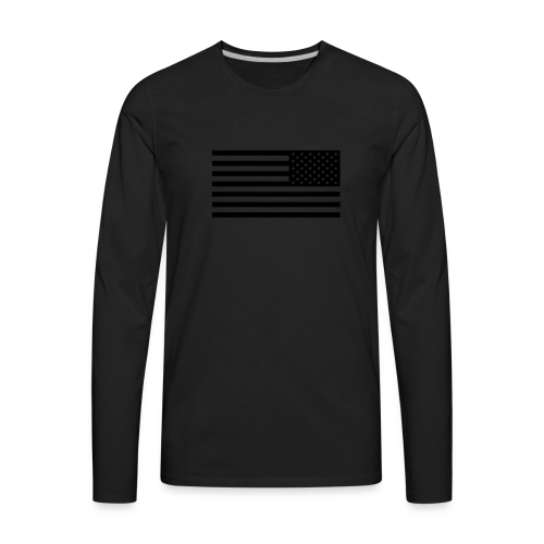 BKS Flagg Snapback - Men's Premium Long Sleeve T-Shirt