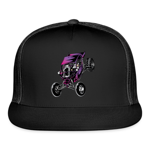 Purple Off-Road Dune Buggy Shirt - Trucker Cap