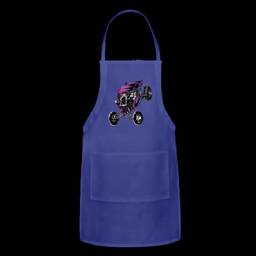 Purple Off-Road Dune Buggy Shirt - Adjustable Apron