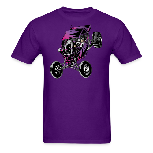 Purple Off-Road Dune Buggy Shirt - Men's T-Shirt