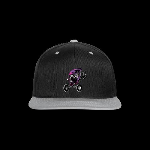 Purple Off-Road Dune Buggy Shirt - Snap-back Baseball Cap