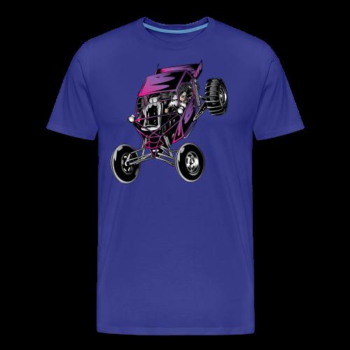 Purple Off-Road Dune Buggy Shirt - Men's Premium T-Shirt