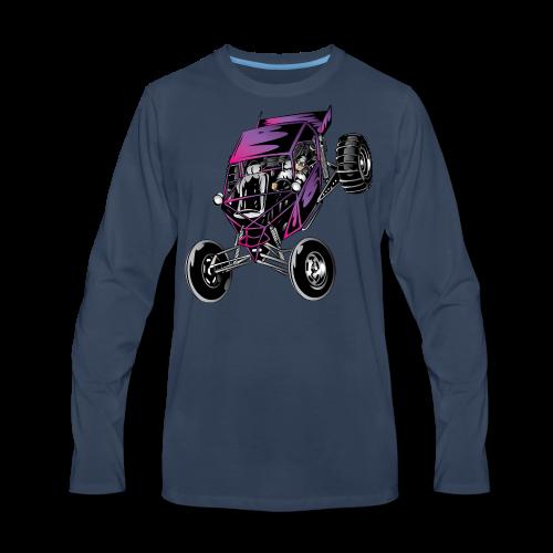 Purple Off-Road Dune Buggy Shirt - Men's Premium Long Sleeve T-Shirt