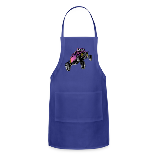 Purple Stunt Buggy Shirt - Adjustable Apron