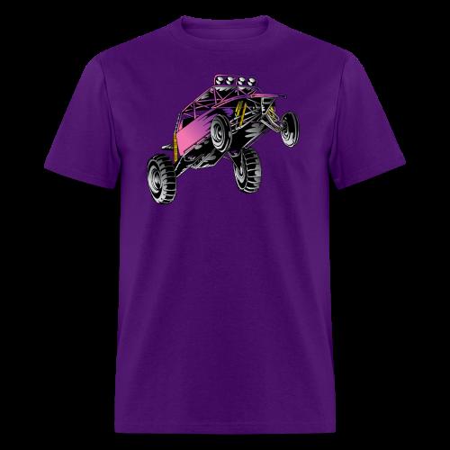 Purple Stunt Buggy Shirt - Men's T-Shirt
