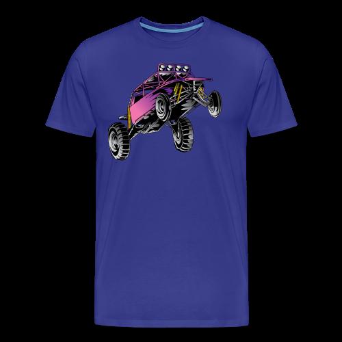 Purple Stunt Buggy Shirt - Men's Premium T-Shirt
