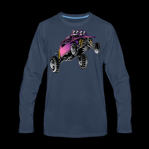 Purple Stunt Buggy Shirt - Men's Premium Long Sleeve T-Shirt