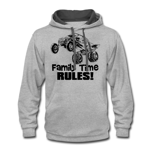 Family Time Dune Buggy - Contrast Hoodie