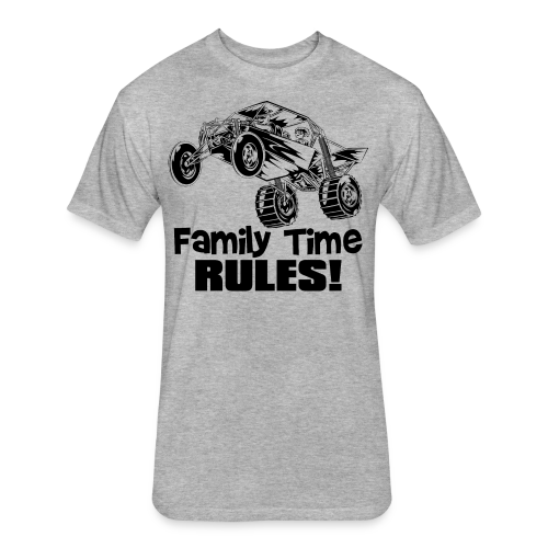 Family Time Dune Buggy - Fitted Cotton/Poly T-Shirt by Next Level