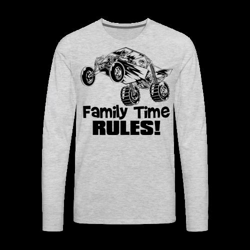 Family Time Dune Buggy - Men's Premium Long Sleeve T-Shirt