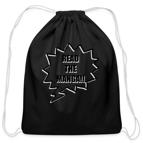 Read The Manga!!  - Cotton Drawstring Bag