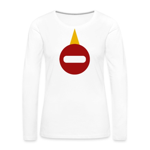 Juggercorn logo HUGE - Women's Premium Long Sleeve T-Shirt