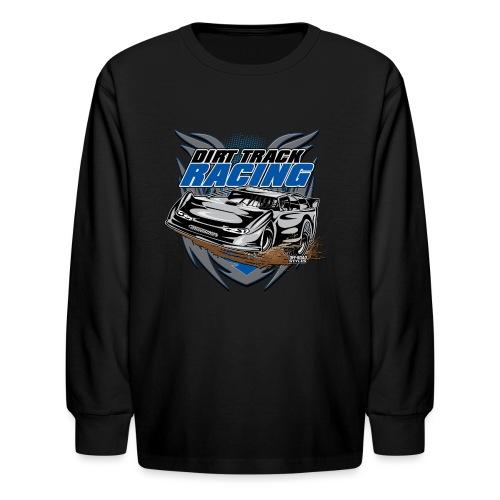 Dirt Track Modified Racer - Kids' Long Sleeve T-Shirt