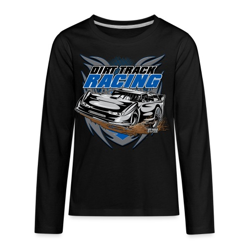 Dirt Track Modified Racer - Kids' Premium Long Sleeve T-Shirt