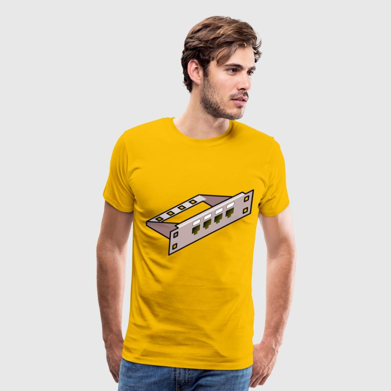 patch panel - Men's Premium T-Shirt