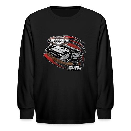Modified Dirt Racing - Kids' Long Sleeve T-Shirt