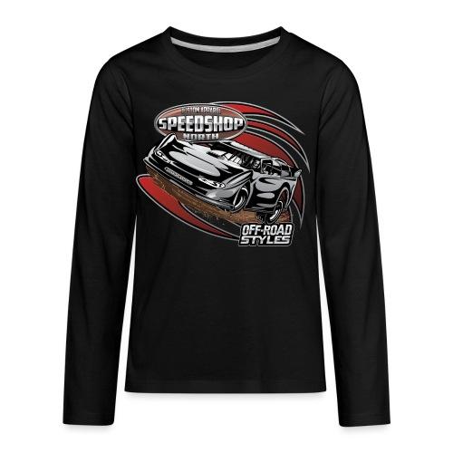 Modified Dirt Racing - Kids' Premium Long Sleeve T-Shirt