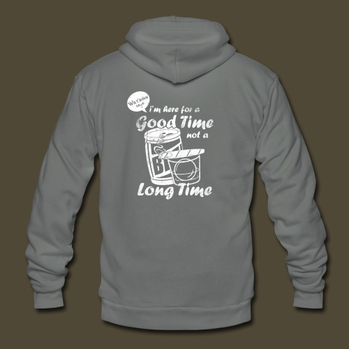 Watashi's Good Time - Unisex Fleece Zip Hoodie