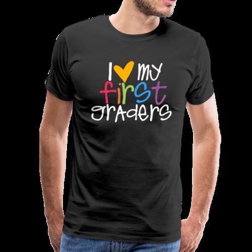 Love My First Graders - Men's Premium T-Shirt