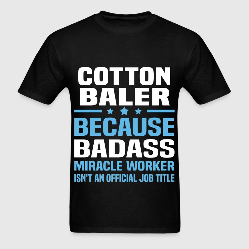 Cotton Baler Tshirt - Men's T-Shirt