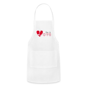 Live in love - Adjustable Apron