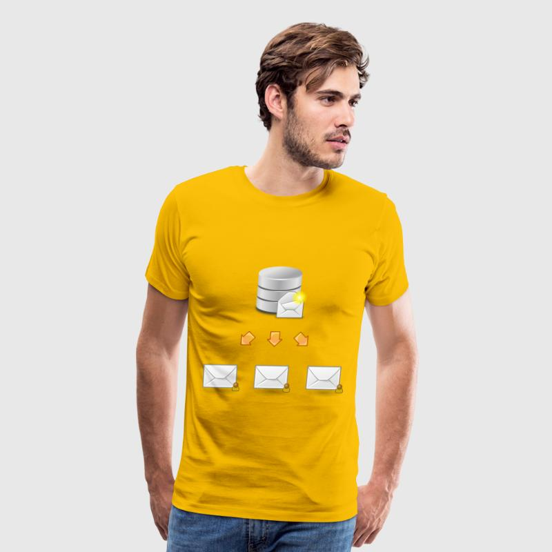 eMail Marketing - Men's Premium T-Shirt