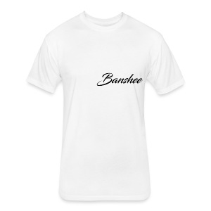 Banshee Original Text - Fitted Cotton/Poly T-Shirt by Next Level