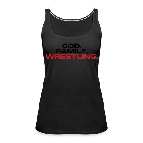 God Family Wrestling t-shirt - Women's Premium Tank Top