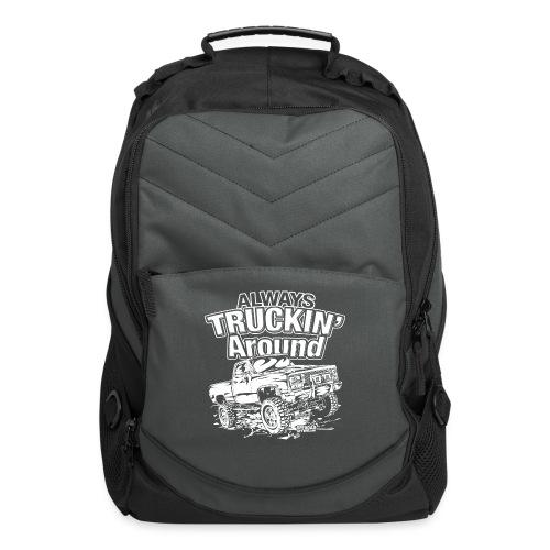 Alway's Truckin Around - Computer Backpack
