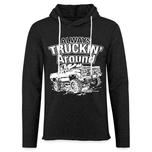 Alway's Truckin Around - Unisex Lightweight Terry Hoodie