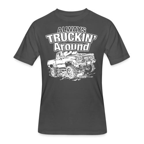 Alway's Truckin Around - Men's 50/50 T-Shirt